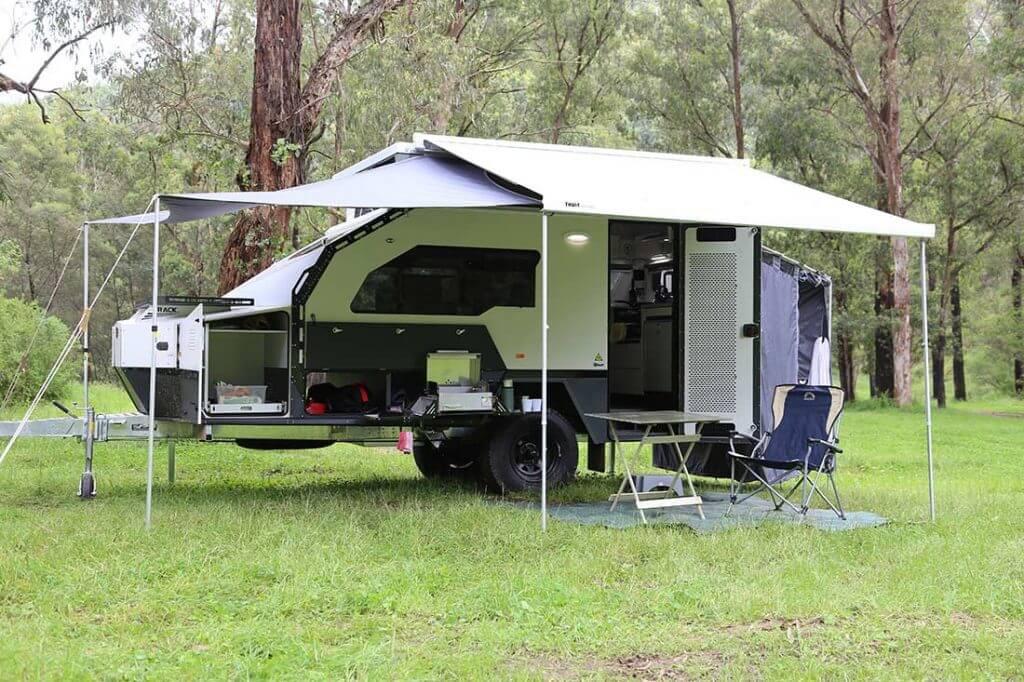 TOPAZ TRACK TRAILER Caravans Range - George Day Caravans