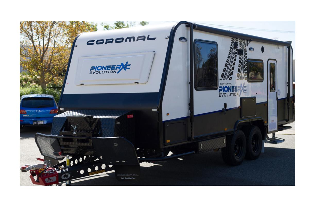 PIONEER EVOLUTION XC COROMAL Caravans Range - George Day